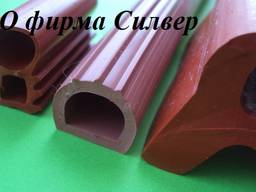 Уплотнители из силиконовой резины - трубки, шнуры