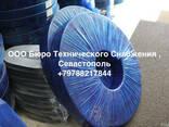 Уплотнительная резина люковых закрытий трюмов 71х32 мм. - фото 2
