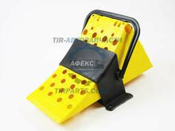 Упор противооткатный желтый с подвесом металл (91053CNT)
