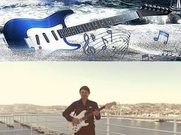 Уроки игры на гитаре. Уроки гитары по скайпу.