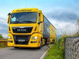 Уроки вождения фуры, грузовика категории СЕ