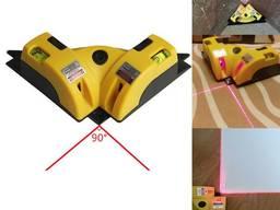 Уровень угловой лазерный 90 градусов для укладки плитки