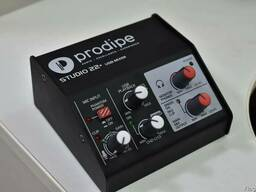Usb-аудиоинтерфейс prodipe studio 22