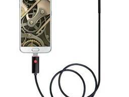 USB эндоскоп для смартфона и ноутбука HD 480P Kerui 660H, 10 метров, 5. 5 мм, жесткий. ..