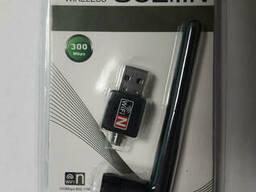 USB Wi-Fi сетевой адаптер Wi Fi 802.11n (PC, T2)+ Антенна. ..