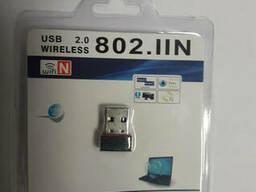 USB WiFi адаптер Антенна WiFi МБит/с USB 150Мбит Сетевая. ..