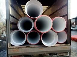Усиленные трубы канализация для футляра, чехла, под дорогой