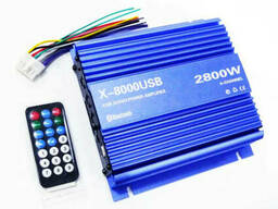 Усилитель звука автомобильный X-8000USB 4835