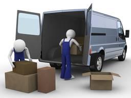 Услуга перевозки и хранения грузов в Ялте