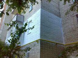 Услуги альпинистов, утепление фасадов