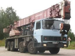 Услуги аренда автокрана крана 50 тонн