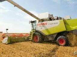 Услуги аренда комбайна услуги по уборке урожая зерновых
