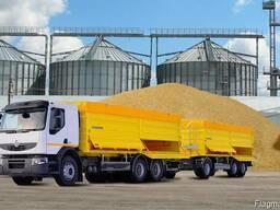 Услуги аренда зерновоза перевозка зерновых