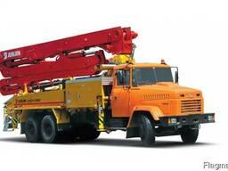Услуги бетононасоса в Мариуполе, Донецкой области и Приа