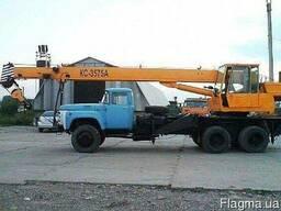 Услуги автокрана ЗИЛ - 133 ГЯ 10 тонн