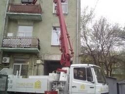Услуги бетононасоса стрела 16м