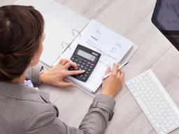 Услуги бухгалтера для предпринимателя (ФОП)