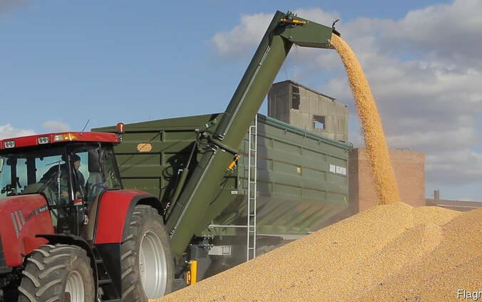 Услуги бункера перегрузчика перевозка зерновых урожая