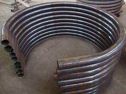 Услуги гибки трубы круглой квадратной