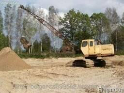 Услуги и аренда экскаватора ЭО3211 драглайна (болотник) Одес