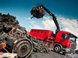 Услуги манипулятора - вывоз строительного мусора