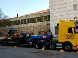 Услуги низкорамного трала 60 тонн.
