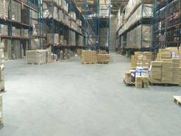 Услуги ответственного хранения товара на складе