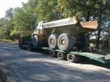 Услуги перевозки тралом с краном манипулятором Украина - фото 3