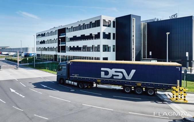 Услуги по доставке грузов контейнерами, авиа, тентами, жд
