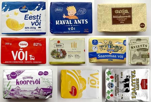 Услуги по фасовке и упаковке сливочного масла, маргарина, спреда в пачки