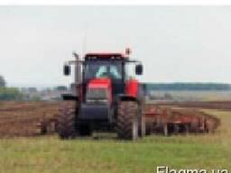 Услуги по обработке почвы: вспашка дисковка культивация.