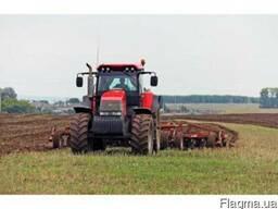 Услуги по обработке земли предпосевная подготовка
