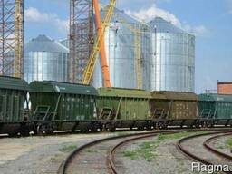 Услуги по ЖД перевозкам зерновых грузов