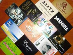 Услуги полиграфии, визитки, еврофлаера, листовки - фото 4