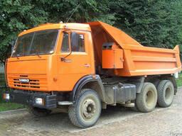 Услуги самосвала доставка сыпучих грузов