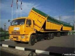 Услуги по уборке и транспортировке урожая.