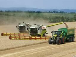 Услуги по уборке урожая