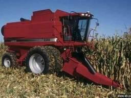 Услуги по уборке зернових комбайн Case 2388 жатка 7.6