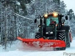 Услуги уборки снега тракторами