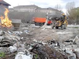 Услуги уборки территории. Уборка территории Киев.