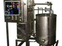 Установка для пастеризации и охлаждения пива, кваса, медовух