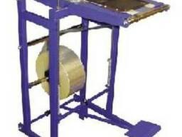 Установка для приварки полимерных пленок к DVD-боксам