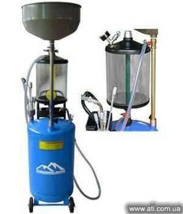 Установка для сбора масла мобильная UZM 80 Trommelberg