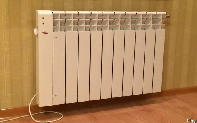 Установка элкктроотопления