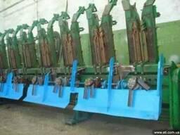 Установка измельчителя на кукурузную жатку John Deere, CASE