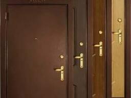 Установка межкомнатных дверей и входных.
