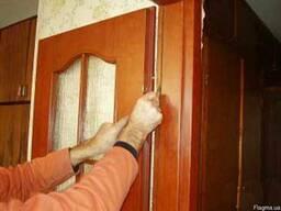 Установка Межкомнатных Дверей с Добором