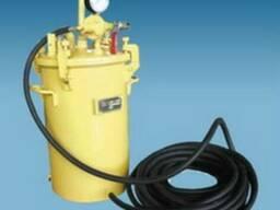 Установка подачи краски УПК-1 бак красконагнетательный СО-12