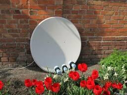 Установка и ремонт спутниковых антенн в Ахтырке.