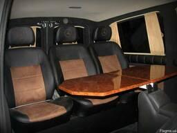 Установка столиков минибаров в автобусы микроавтобусы